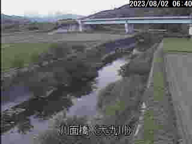 犬丸川 川面橋